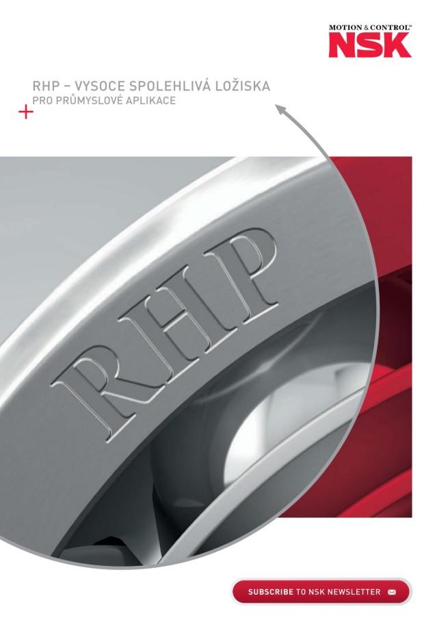 RHP - vysoce spolehlivá ložiska pro prumyslové aplikace