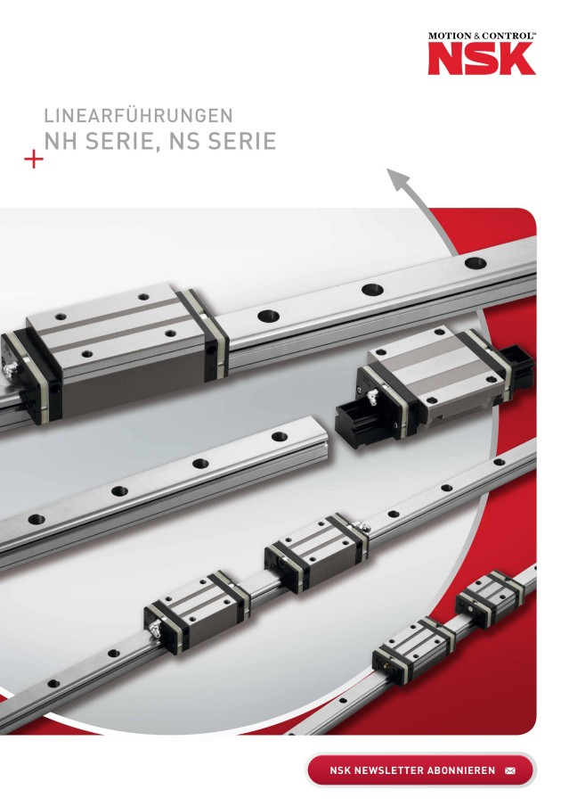 NSK Linearführungen - NH Serie, NS Serie