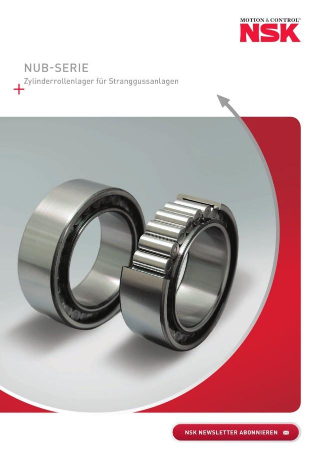 NUB-SERIE - Zylinderrollenlager für Stranggussanlagen