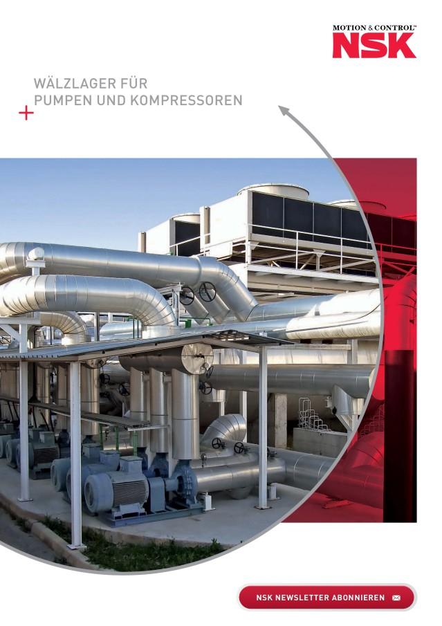 Wälzlager für Pumpen und Kompressoren