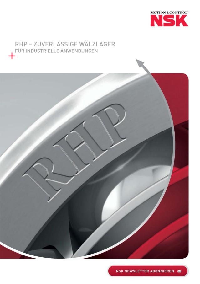 RHP - Zuverlässige Wälzlager für industrielle Anwendungen