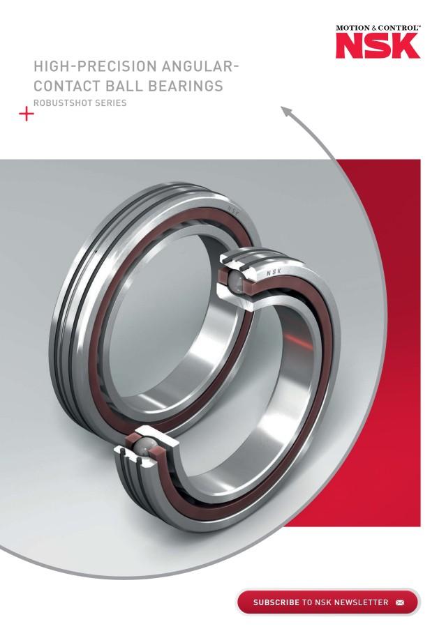 High-Precision Angular - Contact Ball Bearings Robustshot Series
