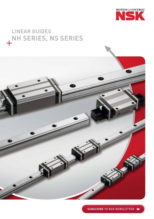 NSK Linear Guides NH series, NS series