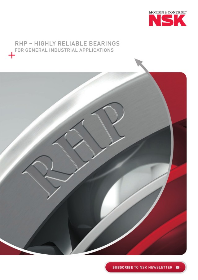 RHP- Highly Reliable Bearings for General Industrial Applications