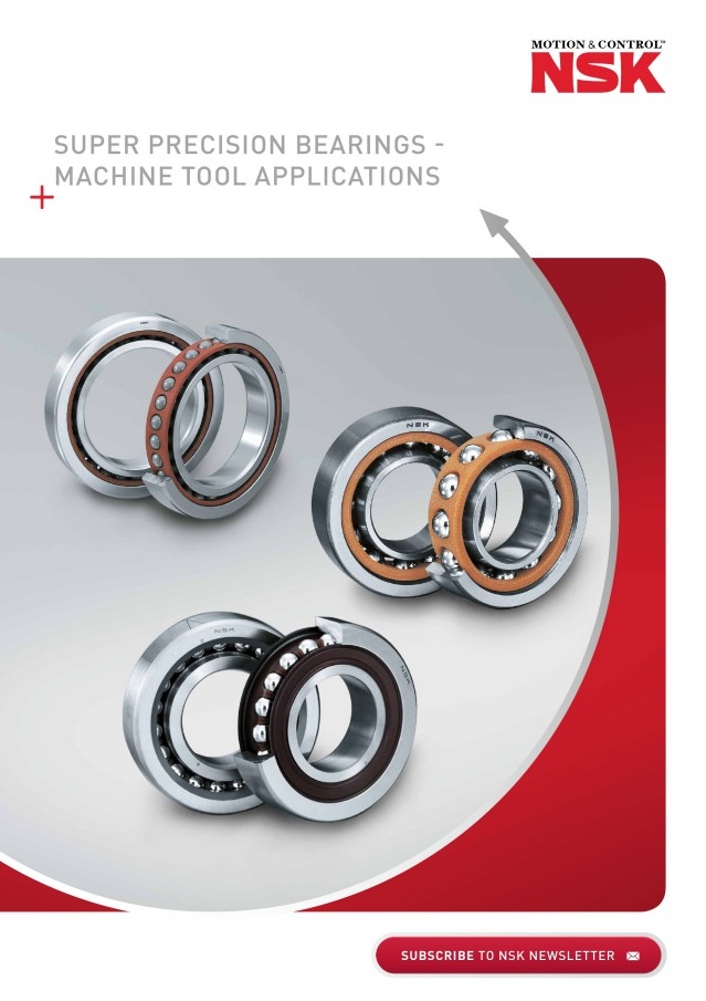Super Precision Bearings for Machine Tool Applications