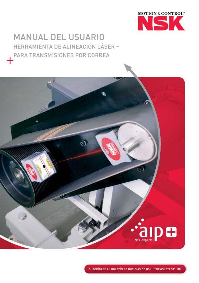 Manual del usuario - Herramienta de Alineación Láser - Para Transmisiones por Correa