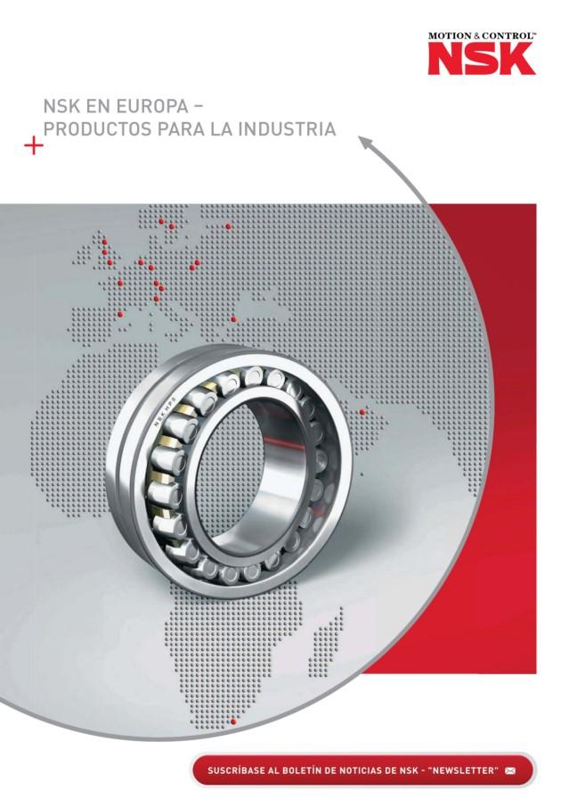 NSK en Europa - Productos para la Industria