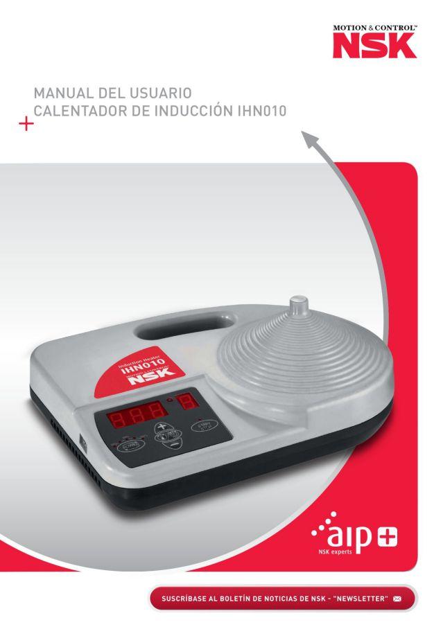 Manual del Usuario - Calentador de Inducción IHN010