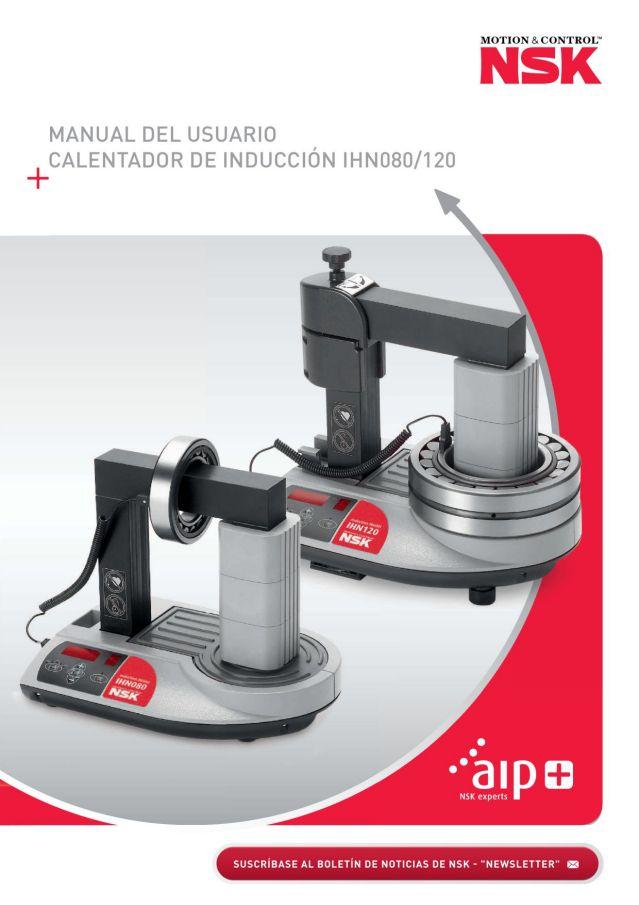 Manual del Usuario - Calentador de Inducción IHN080/120
