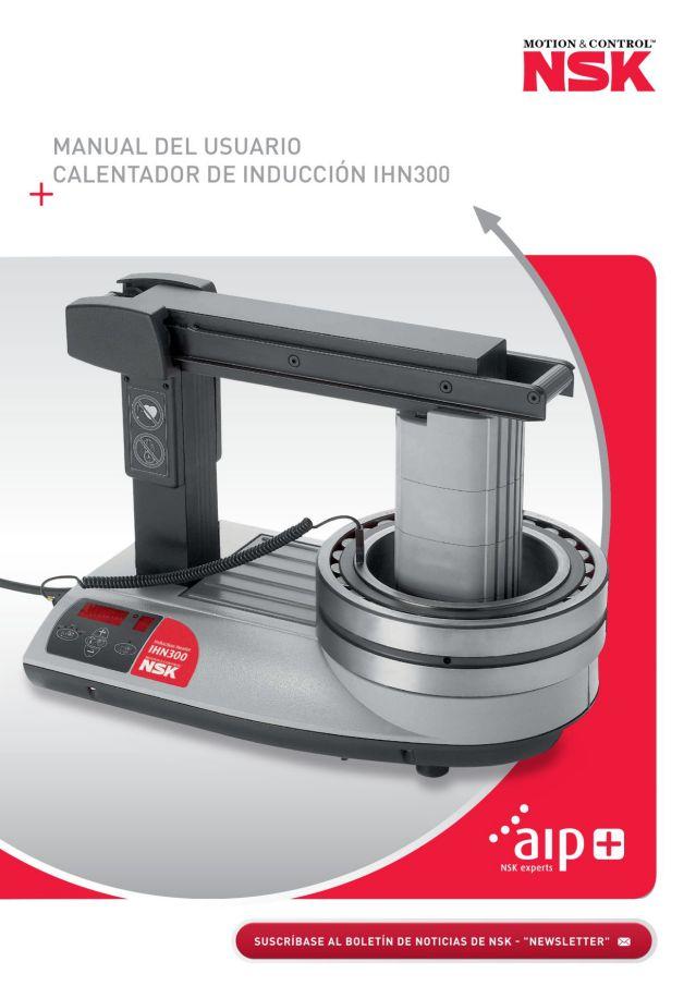 Manual del Usuario - Calentador de Inducción IHN300