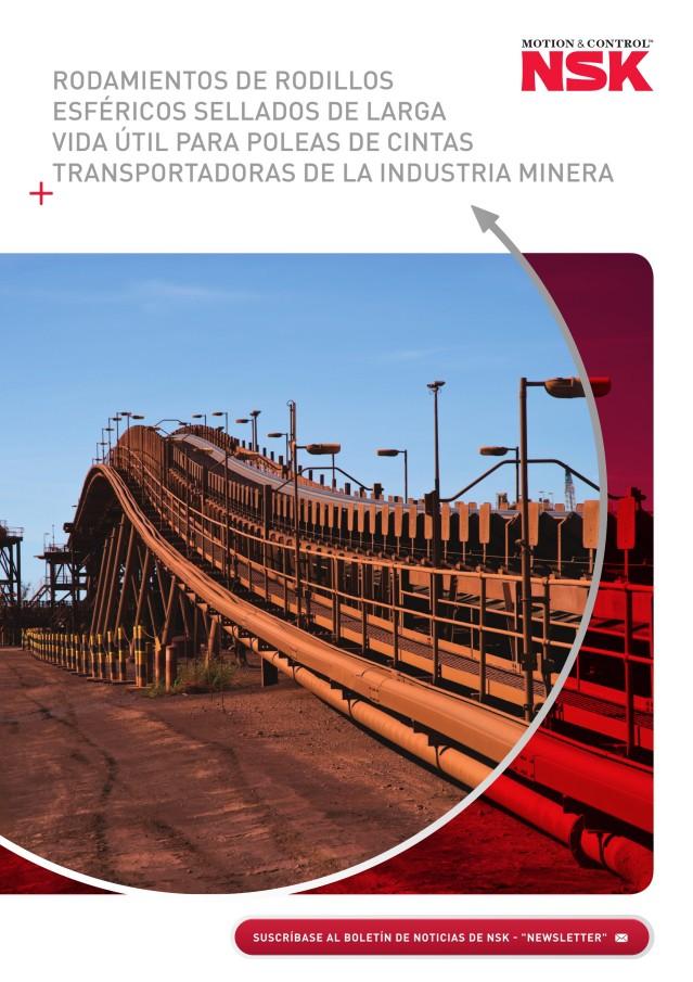 Rodamientos de Rodillos Esféricos Sellados de Larga vida Útil para Poleas de Cintas Transportadoras de la Industria Minera
