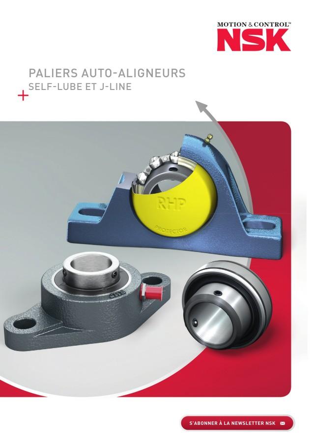 Paliers Auto-Aligneurs - Self-Lube et J-Line