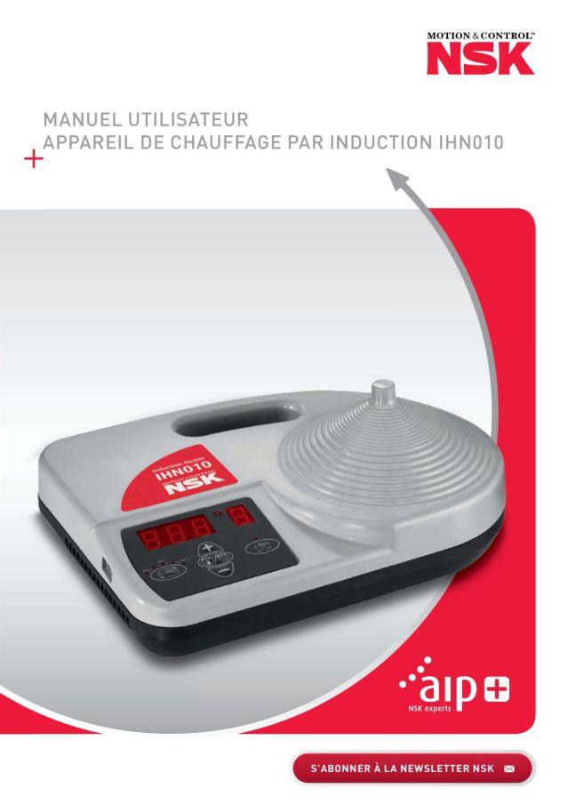 Manuel Utilisateur - Appareil de Chauffage Par Induction IHN010