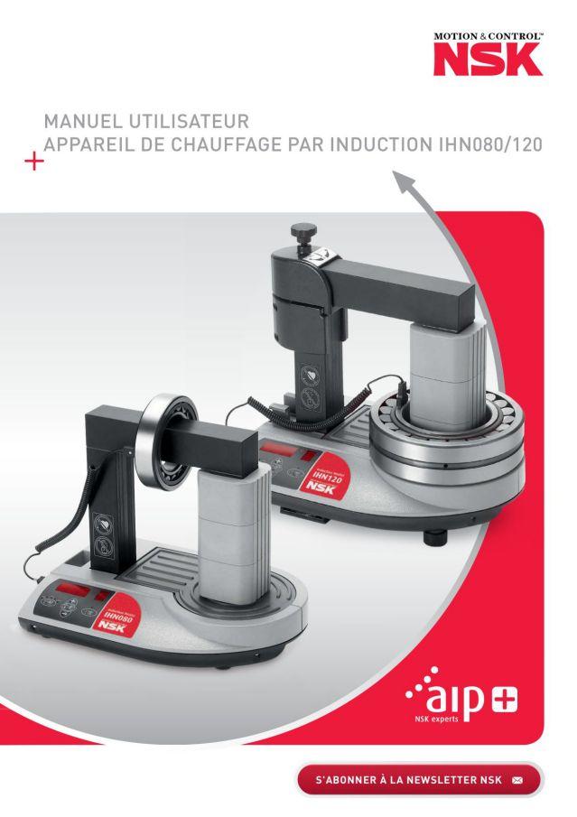 Manuel Utilisateur - Appareil de Chauffage Par Induction IHN080/120