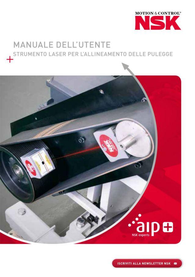 Manuale dell'utente - Strumento laser per l'allineamento delle pulegge
