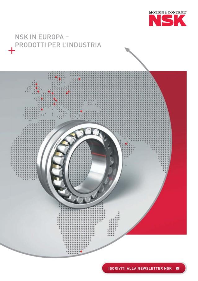 NSK in europa - Prodotti per l'industria