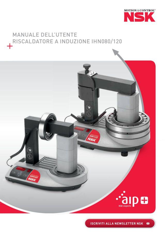 Manuale dell'utente riscaldatore a induzione IHN080/120