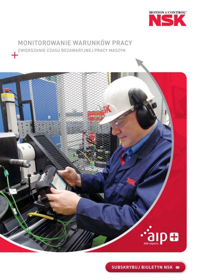 Monitorowanie warunków pracy - Zwiększanie czasu bezawaryjnej pracy maszyn