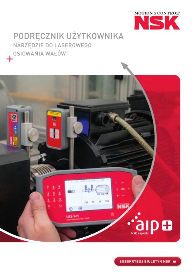 Podręcznik użytkownika - Narzędzie do laserowego osiowania wałów