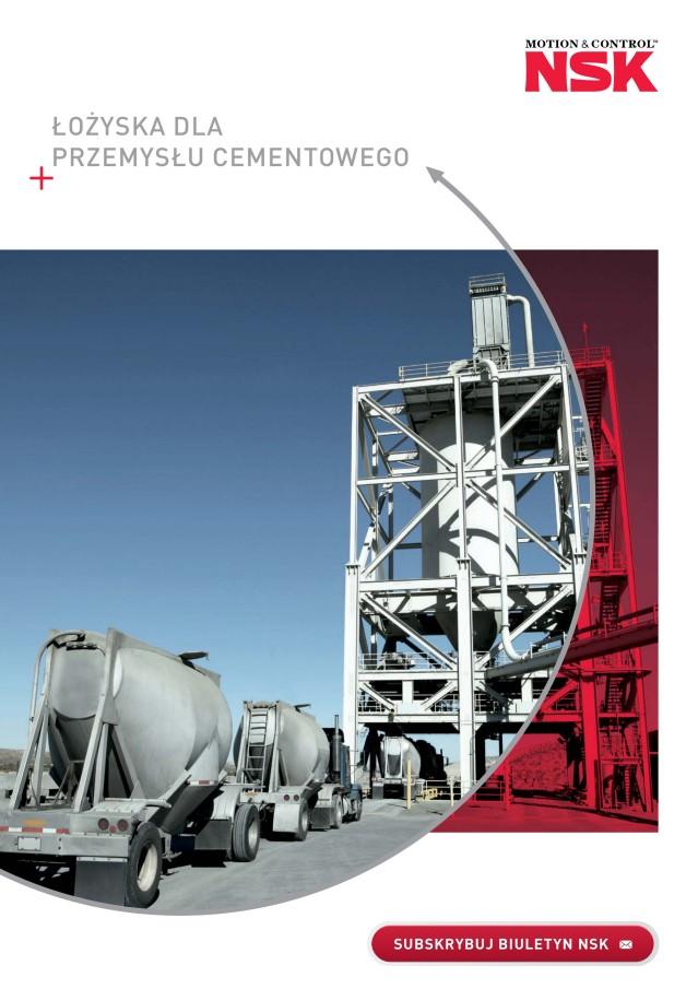 Łożyska dla przemysłu cementowego