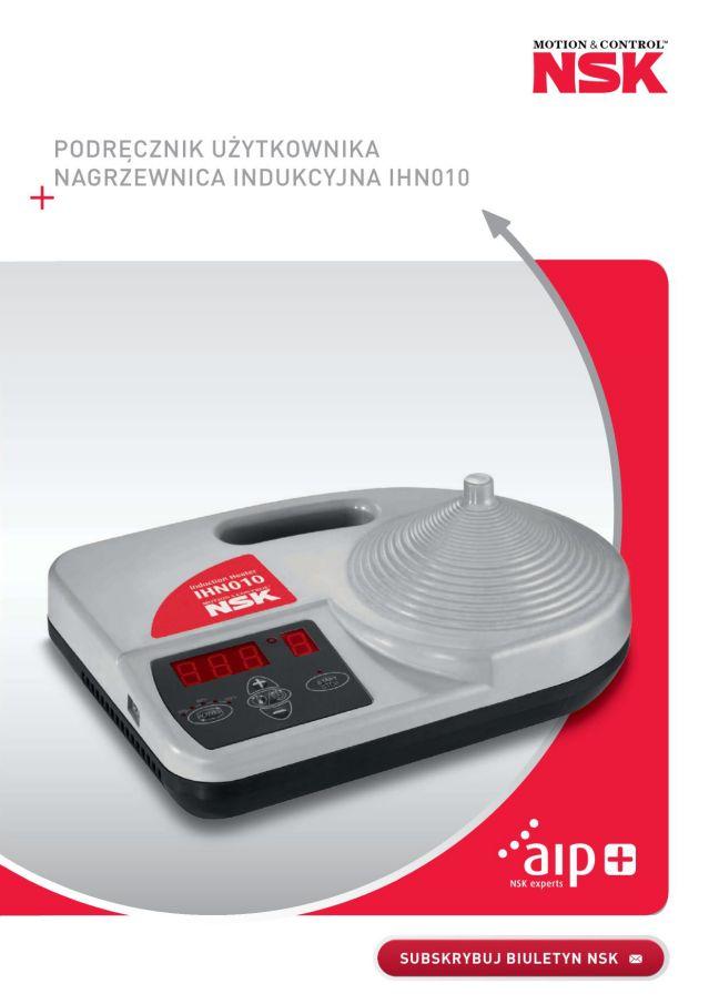 Podręcznik użytkownika - Nagrzewnica indukcyjna IHN010