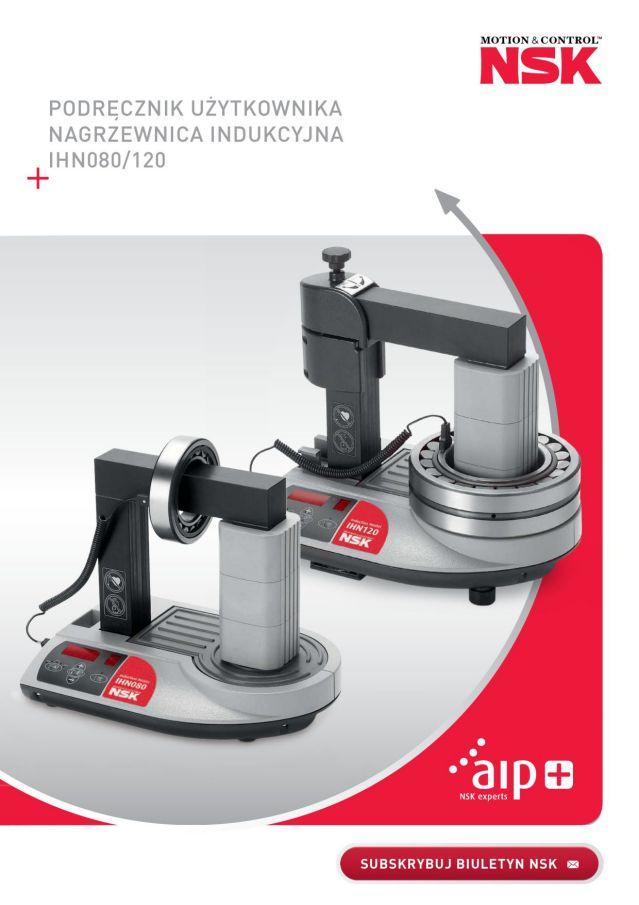 Podręcznik użytkownika - Nagrzewnica indukcyjna IHN080/120