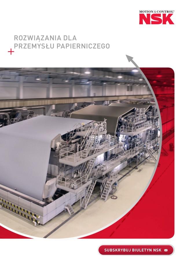 Rozwiązania dla przemysłu papierniczego