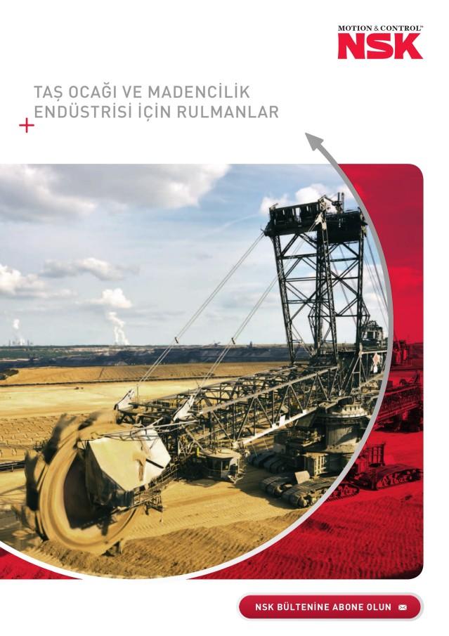 Taş Ocağı ve Madencilik Endüstrisi İçin Rulmanlar